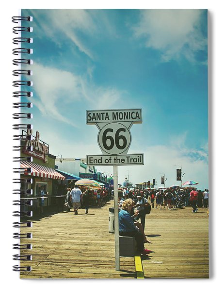 The End Of Sixty-six Spiral Notebook