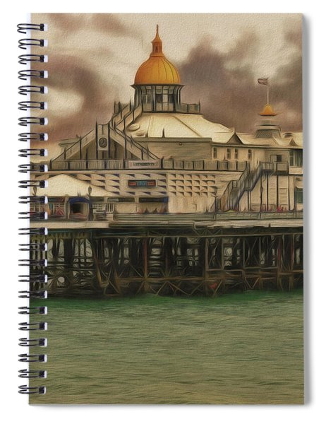The End Of The Pier Show Spiral Notebook