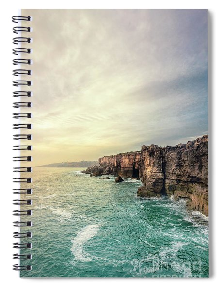 The Eternal Song Of The Ocean Spiral Notebook