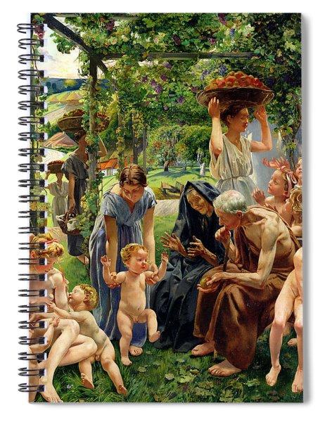 The Evening Spiral Notebook