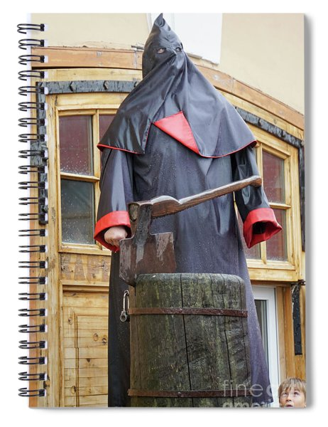 The Executioner Spiral Notebook