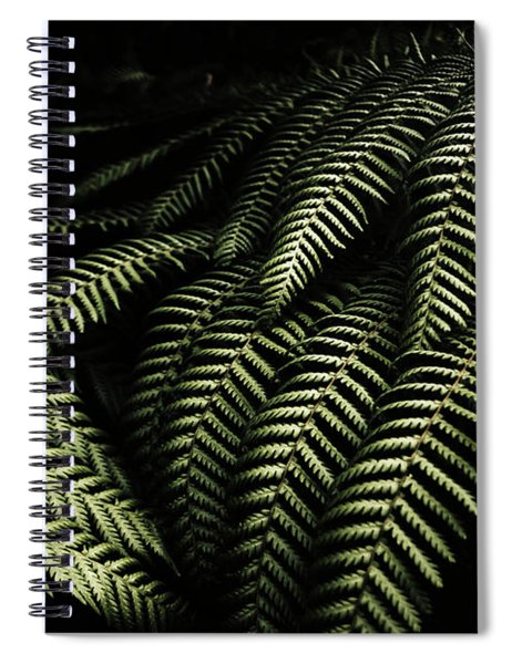 The Exotic Dark Jungle Spiral Notebook