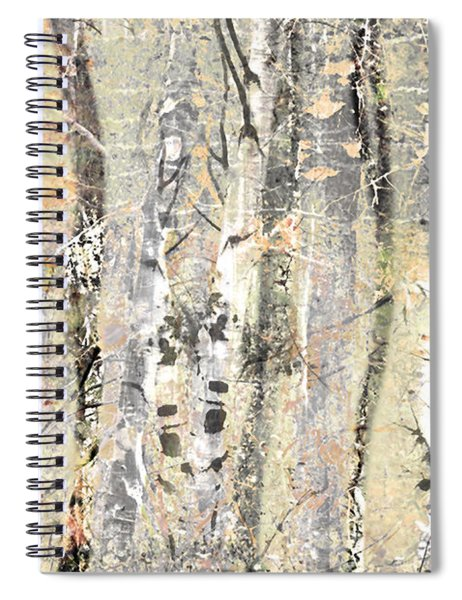 The Fading Forest Spiral Notebook
