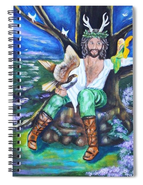 The Faery King Spiral Notebook