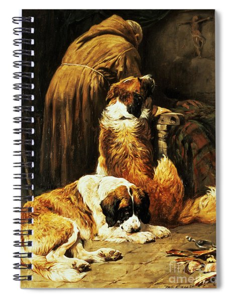 The Faith Of Saint Bernard Spiral Notebook