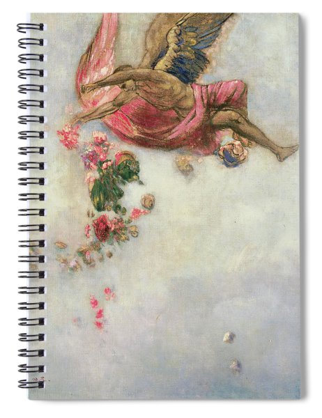 The Fall Of Icarus  Spiral Notebook