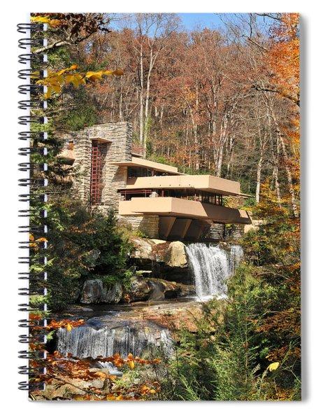 The Fallingwater Spiral Notebook