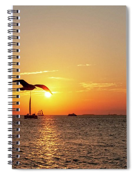 The Famous Key West Sunset  Spiral Notebook