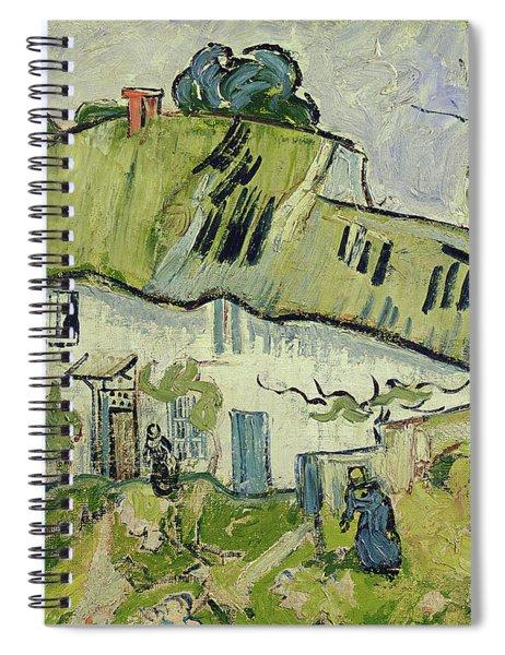 The Farm In Summer Spiral Notebook