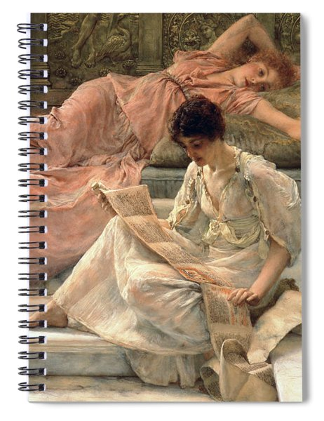 The Favourite Poet Spiral Notebook