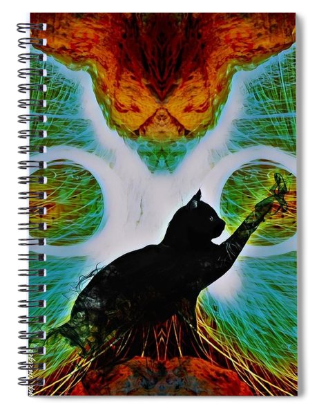 The Feline Spiral Notebook
