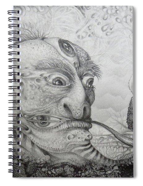 The Fernal Popeye Impersonator Spiral Notebook