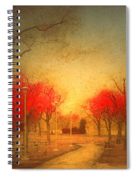 The Fire Trees Spiral Notebook