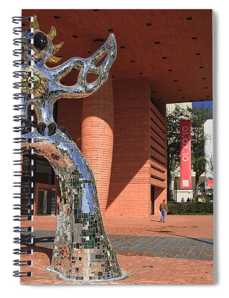 The Firebird At The Bechtler Museum In Charlotte Spiral Notebook