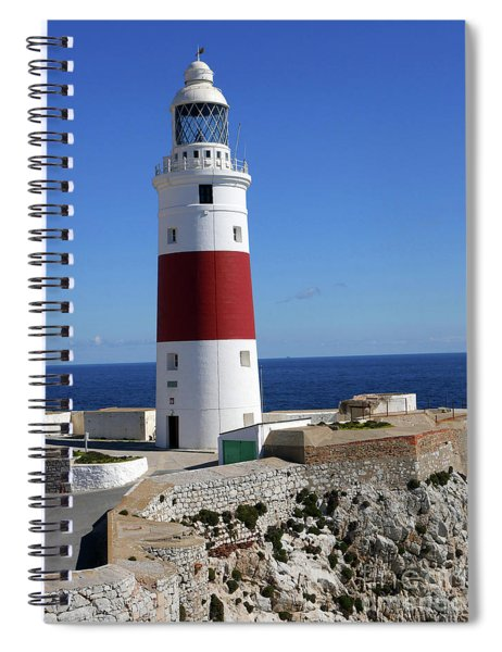 The First And Last Lighthouse On The Continent Of Europe Spiral Notebook