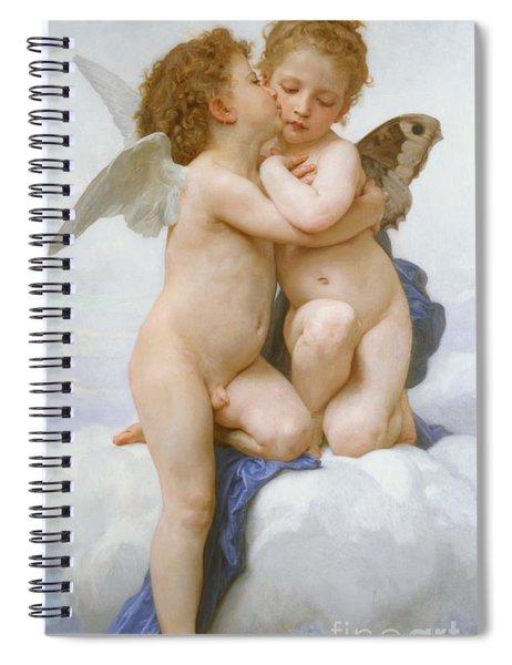 The First Kiss  Spiral Notebook