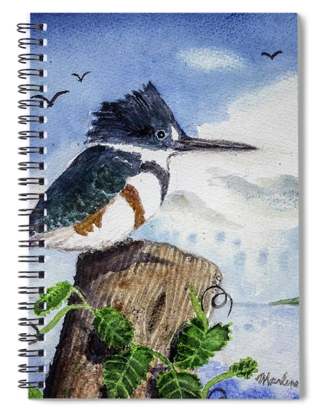 The Fisher Queen  Spiral Notebook
