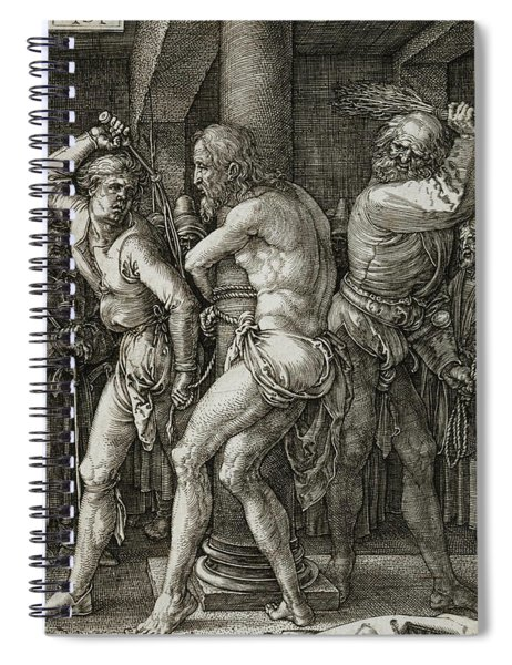 The Flagellation Spiral Notebook