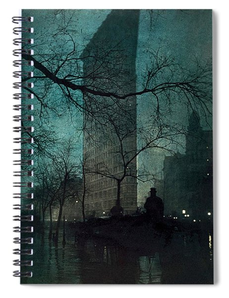 The Flatiron Building Spiral Notebook