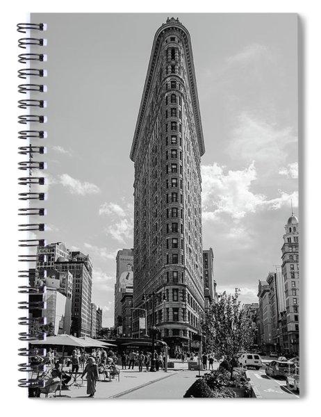 The Flatiron Building New York Spiral Notebook