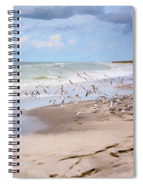 The Flock Spiral Notebook
