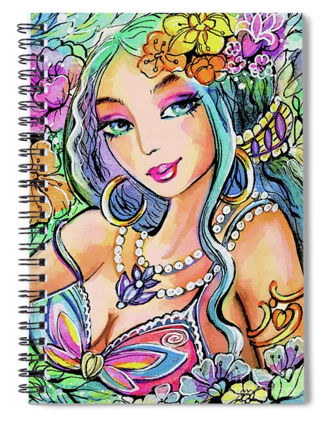 The Flowery Stream Spiral Notebook