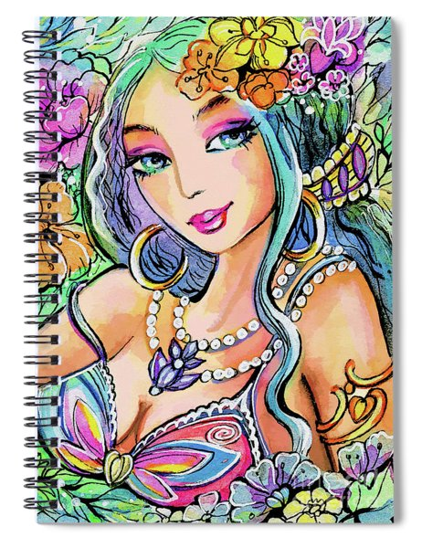 The Flowery Stream Spiral Notebook