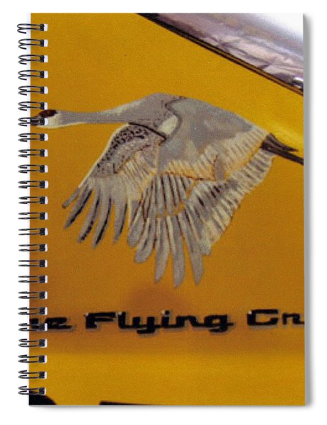 The Flying Crane Spiral Notebook