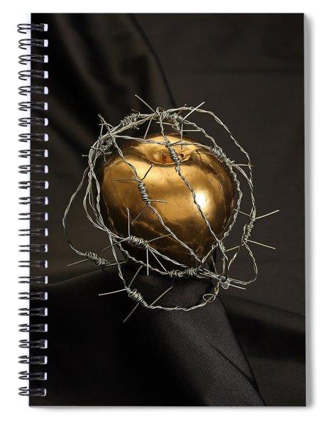 The Forbidden Fruit Spiral Notebook