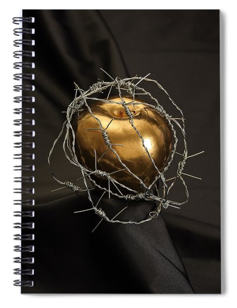 Spiral Notebook featuring the photograph The Forbidden Fruit by ISAW Company