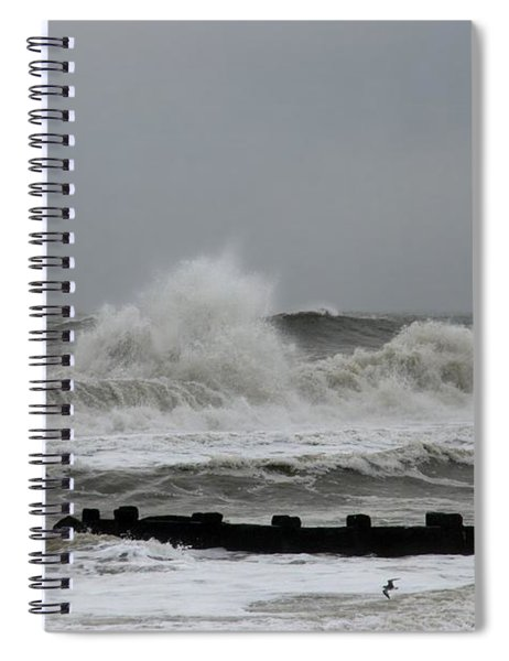 The Force Of Nature - Jersey Shore Spiral Notebook