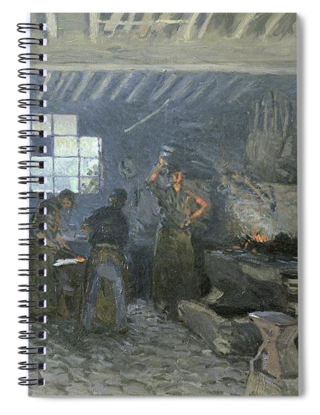 The Forge Spiral Notebook