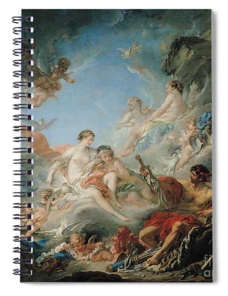 The Forge Of Vulcan Spiral Notebook