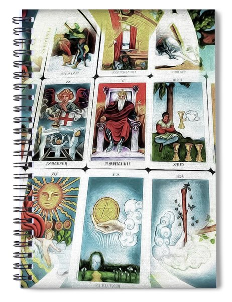 The Fortune Teller Spiral Notebook