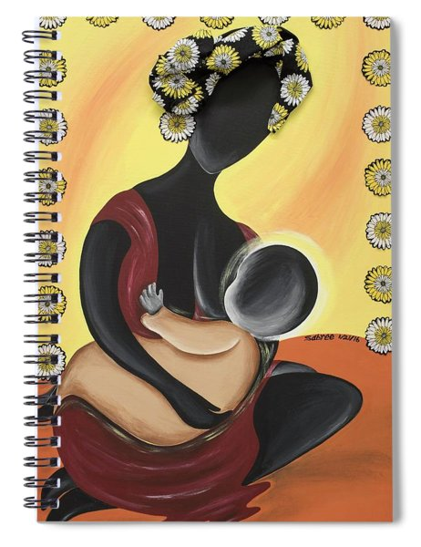 The Fountain Of Life II Spiral Notebook