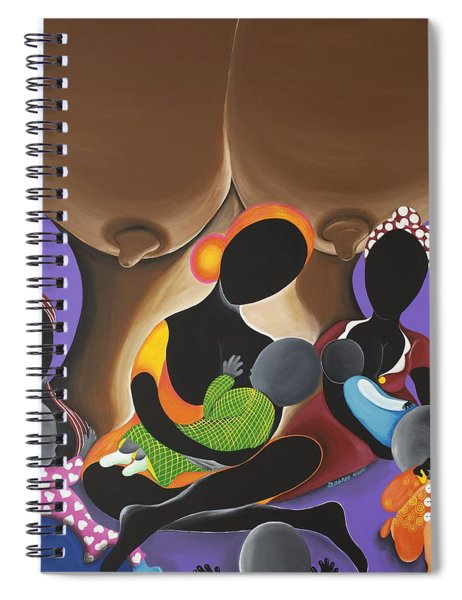 The Fountain Of Life Spiral Notebook