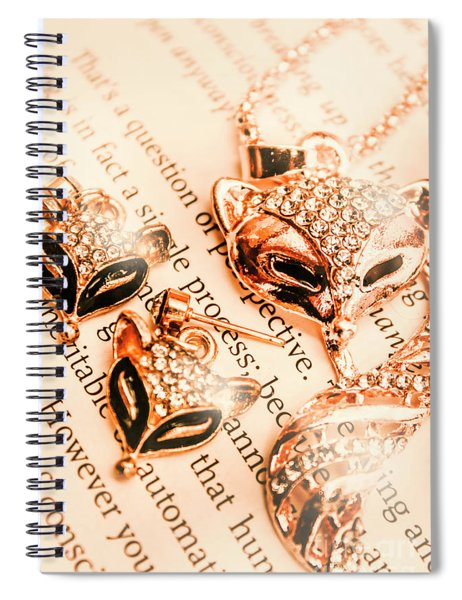 The Fox Tale Spiral Notebook