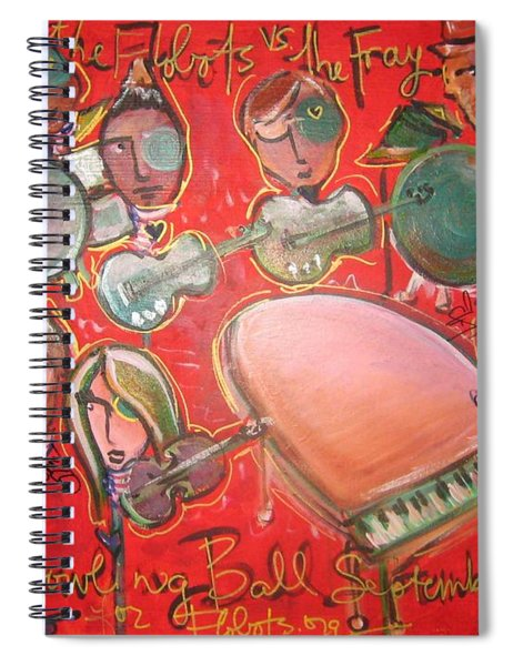 The Fray And The Flobots Spiral Notebook