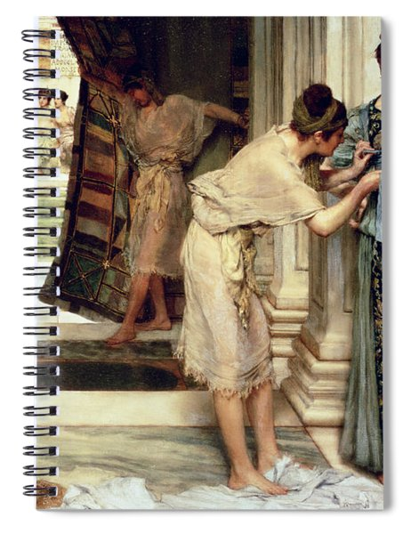 The Frigidarium Spiral Notebook