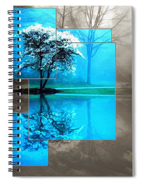 The Frosting On The Tree Spiral Notebook