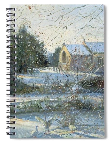 The Frozen Moat - Bedfield Spiral Notebook
