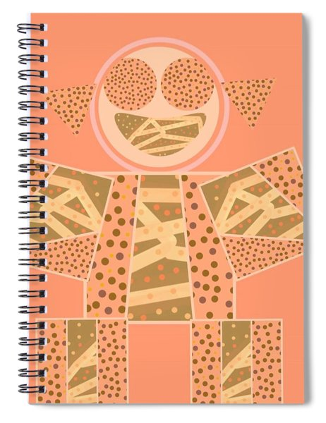 The Full Body Of Finding Solace  Spiral Notebook