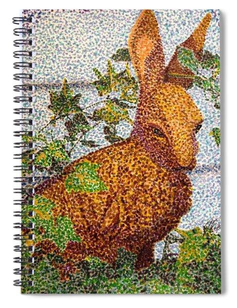 The Garden Hare Spiral Notebook