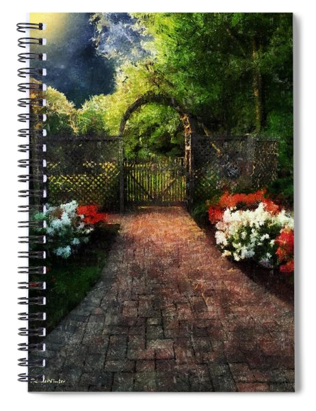 The Garden Path Spiral Notebook