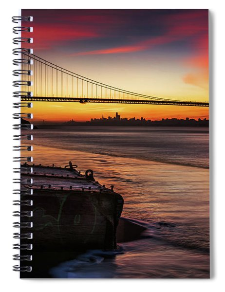 The Gate Of Gold  Spiral Notebook