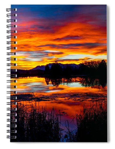 The Gates Of Heaven No. 2 Spiral Notebook