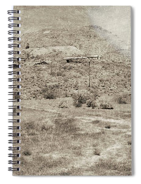 The Ghost Town Spiral Notebook