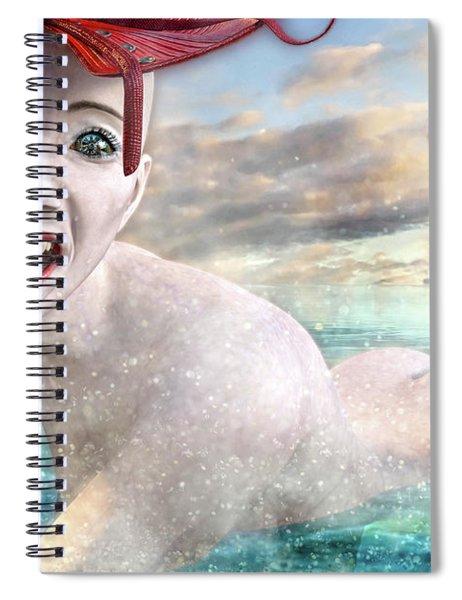 Spiraling Dream Spiral Notebook