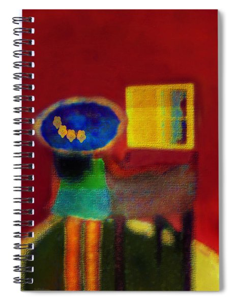 The Girl In The Mirror 2 Spiral Notebook