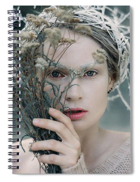 The Glance. Prickle Tenderness Spiral Notebook